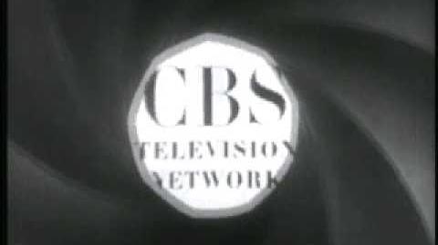CBS-TV Logo 50's with announcer