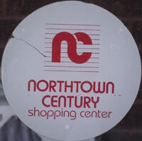 Northtown Century Shopping Center sticker