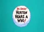 Horton hears a who 1970 logo