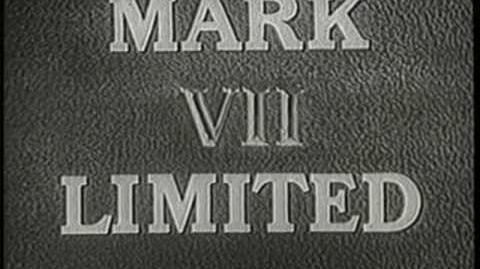 """Mark VII Limited """"Hammer"""" Logo (1958)"""