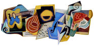 Google Juan Gris' 125th Birthday
