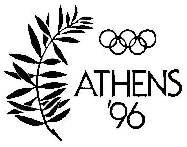 Athens 1996 Olympic bid logo