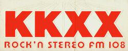 KKXX Stereo FM 108