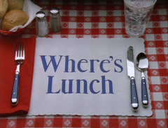 Where's Lunch? (1997)
