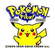 Pokemon Yellow Version GBC ScreenShot1