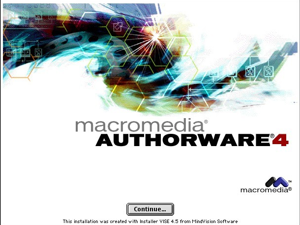 Macromedia Authorware 4