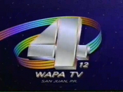 WAPA-TV's Video ID from 1993