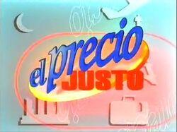 El Precio Justo 1999-2000
