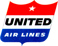 United Air Lines 1955