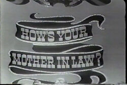 How's Your Mother in Law? Logo