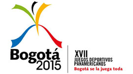 Bogotá bid logo for the 2015 Pan American Games
