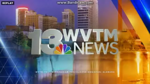 WVTM 13 News Video Open from March 2015