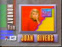 WVTM TV-13 Joan River Show promo 1991