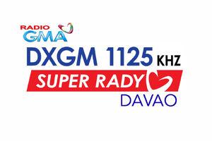 GMA Super Radyo DXGM 1125 Davao 2014 logo