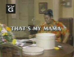 Thats my mama alt