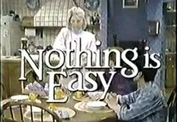 Nothing is Easy Intertitle