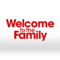 Logo for the TV Series Welcome to the Family
