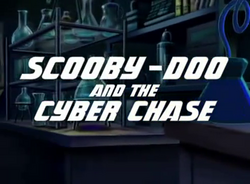 Cyber Chase intertitle card