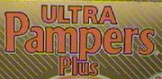 Ultra Pampers Plus logo