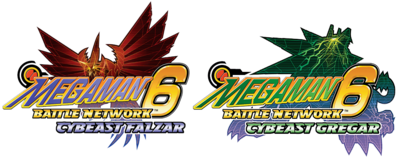 Mega Man Battle Network 6 Logo
