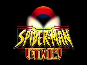 Spider-Man Unlimited title screen