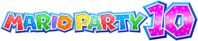 Mario Party 10 Logo Big