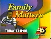 WGNX 46 promo for Family Matters 1995