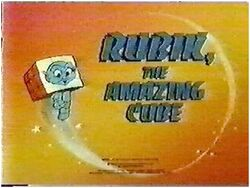 Rubik the Amazing Cube Title Card
