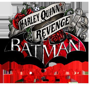 Batman Arkham City Armored Edition logo - Harley Quinn's Revenge 1