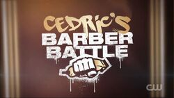 Cedric's Barber Battle Intertitle