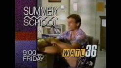 WATL 36 promo for Summer School from May 1990