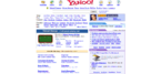Yahoo Website 2002