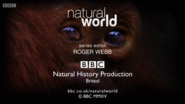 BBC Natural World End Board 2015
