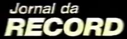 Jornal da Record 1985