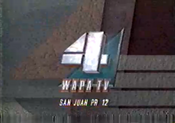 WAPA-TV's Video ID from 1990