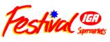 Festival IGA logo 26 October 1992-31 December 2009
