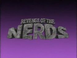 Revenge of the Nerds 1991 TV Pilot