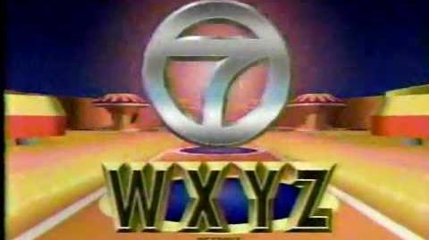 WXYZ Station ID - October 8, 1994
