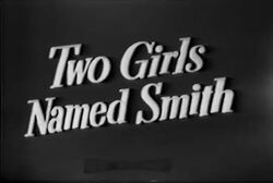 Two Girls Named Smith