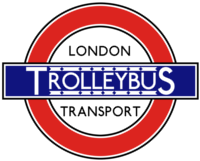 London Transport Trolleybus Roundel