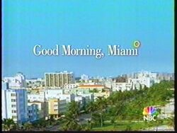 Good Morning Miami