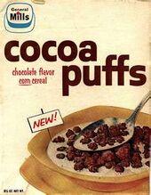 Cocoa Puffs 1958 Box