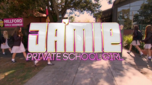 Ja'mie Private School Girl intertitle