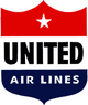 United Airlines 50s