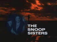NBC Mystery - Snoop Sisters