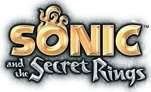 Sonic and the secret rings logo-13642
