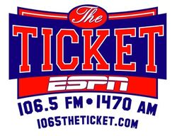 WLQR The Ticket 106.5 FM 1470 AM