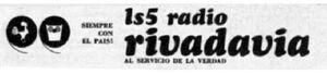Radio Rivadavia Logo 60