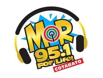 MOR 95.1 Cotabato new logo