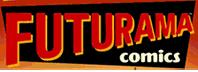 New futurama comics logo